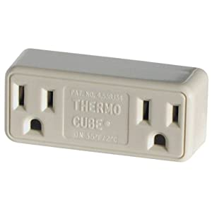 Farm Innovators Model TC-2 Cold Weather Thermo Cube Thermostatically Controlled Outlet - On at 20-Degrees/Off at 30-Degrees
