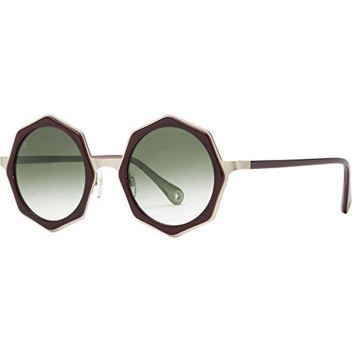 Raen Luci Round Sunglasses,Sydney & Japanese Gold,49 ()