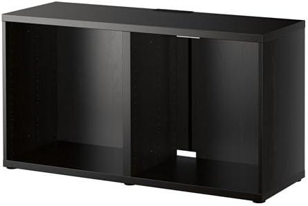 Ikea Besta Brun Tv 120 X 40 X 64 Cm Amazon Fr Cuisine Maison