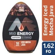 MiO Energy Iced Mocha Java Iced Coffee Concentrate 1.62 fl. oz. (Pack of 6) (Best Mio Energy Flavor)