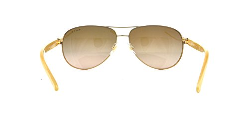 Ralph By Ralph Lauren RL-RA4004 - 101/13 Gold and Cream with Brown Gradient Lenses Women's Sunglasses