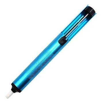 HaiMa Bomba De Succión Pistola De Soldadura Sucker Pen - Azul De Windows: Amazon.es: Bricolaje y herramientas