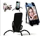 Black Spider Podium Stand Car Holder For Samsung Galaxy Note 2 S4 S3 Grand Duos