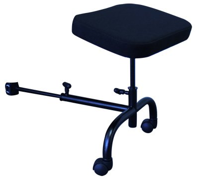 ErgoUP 18u0026quot; Ergonomic Ottoman Leg Rest For Office Chair With  Leatherette Cover