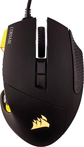 Corsair SCIMITAR PRO RGB Optical Gaming Mice, yellow