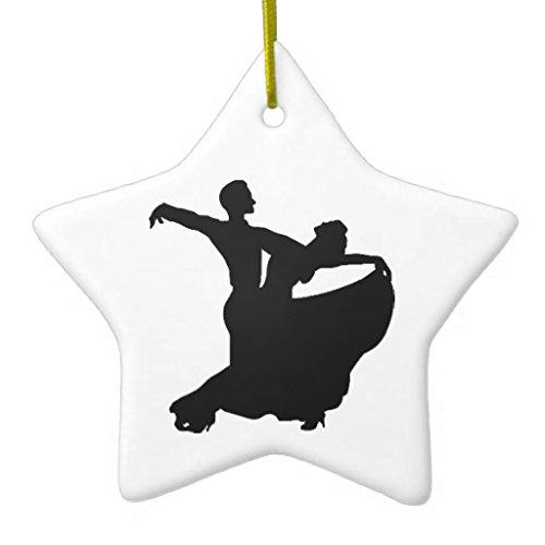 Christmas Ornaments Ballroom Dancing Holiday Tree Ornament Both Sides Star Ceramic Ornament Crafts Christmas Gifts Rutehiy 100775398