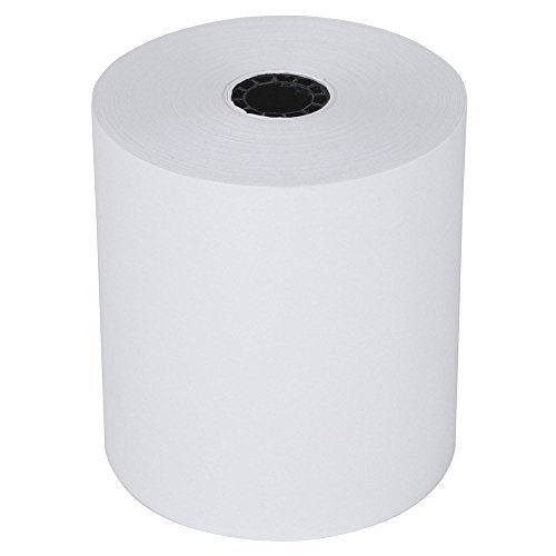 RiteMade 15-151 POS Cash Register Thermal Paper Roll Tape 2 1/4 x 200' with 1/2 Core (50 Rolls per Case) by Rite Made Paper Converters Inc