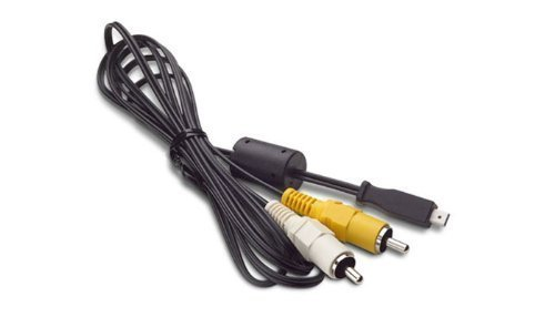 MPF Products Replacement A/V Audio/Video RCA Cable Lead Cord for Kodak Easyshare Z612, Z650, Z700 , Z710, Z712 IS, Z730, Z740, Z760, Z812 IS, Z885, Z915, Z950, Z980, Z981, Z1012 iS, Z1015 iS, Z1085 IS, Z1275, Z1285, Z1485 IS, Z7590, Z8612 IS, ZD710, ZX1 Digital Cameras