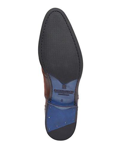 Durchgenäht Dunkelbraun Business oder Feinstem BL Leder SHOEPASSION handgefertigt und Freizeitschuh No Flexibler Herren 5612 für aus wZFAzS