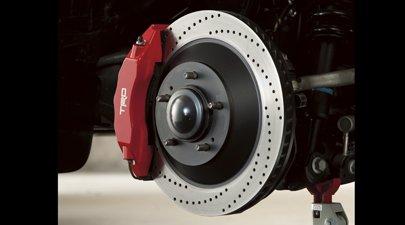 Genuine Toyota PTR09-34070 TRD High-Performance Brake Kit (Performance Trd Part Kit)