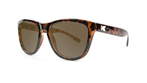 Knockaround Kids Premiums Sunglasses, Glossy Tortoise Shell/Amber