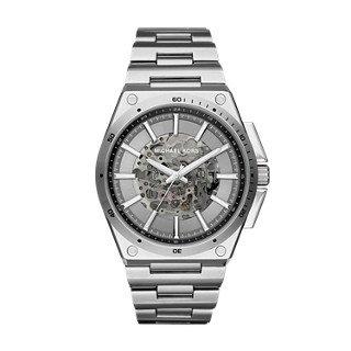 Michael Kors Men's Wilder Silver-Toned Watch - Kors Sale Men Michael
