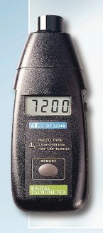 デジタルタコメーター DT2234B 非接触のデジタルタコメーター回転計 大型LCD画面