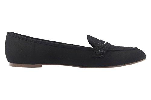 donna Ballerine nero MF Black Footwear Fitters EUqvc