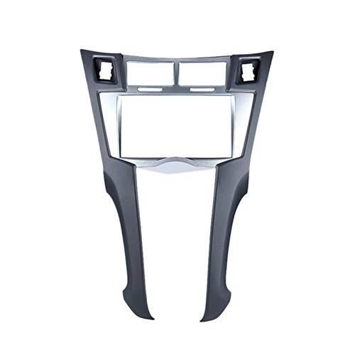 Domilay/Kit di Montaggio Telaio Stereo 2 DIN per Cruscotto per Cornice Montaggio Lettore Toyota Yaris Vitz Platz 2005-2011