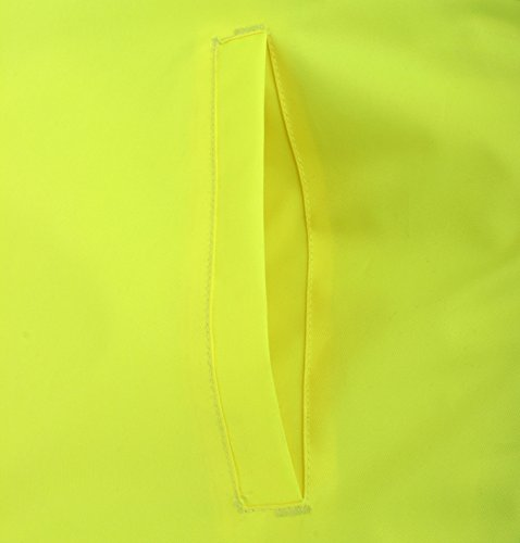 Baratec Herren Bomberjacke, reflektierende Details, optimale Sichtbarkeit, entspricht EN471 Klasse 2, Neongelb
