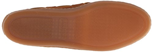 Minnetonka Pile Lined Hardsole, Zapatillas de Estar por Casa para Mujer Marrón (Brownbrown)