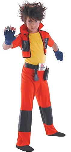 Bakugan Dan Classic - Size: Child S(4-6) (Classic Costume Dan)