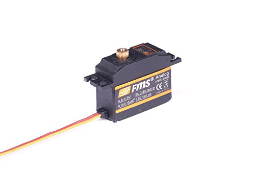 FMS RC Airplane Part - 25g Metal Gear Servo with Arm (600mm cable length)