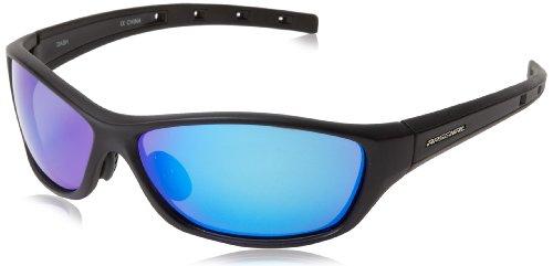 Arsenal Dash Polarized Oval Sunglasses,Satin Black,61 - Sunglasses Polarized Lightest Weight