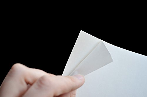 Peel & Stick Paper, Laser Gloss White Polyester, 5pp