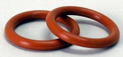"""Silicone O-Ring for weldless Homebrew Kettle 7//8/"""" ID x 1//8/"""" Thick Fits 1//2/"""" MPT"""