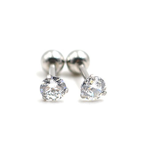 Zirconia Cartilage Barbell Piercing Earrings