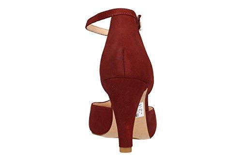 Granate Tulip Dalia 26132290 Rojo Clarks Zapato tOIqwYxRY