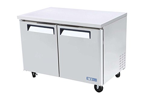 Undercounter Refrigeration (MUR48 12 cu. ft. M3 Series Undercounter Refrigerator with Efficient Refrigeration System Hot Gas Condensate System High Density PU Insulation and PE Coated Adjustable Shelves: Stainless Steel)