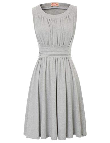 Belle Poque Sleeveless A-Line Women's 1950s Vintage Dress Cocktail Dress