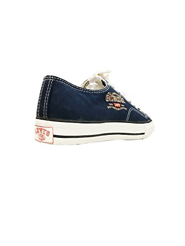 Levi's Blue Canvas Vintage LS2 Navy Sneakers gxq1qXd