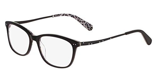 BEBE Eyeglasses BB5101 001 Jet 52MM