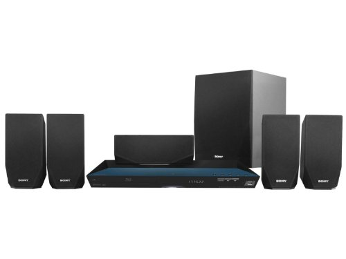 Sony BDV-E2100 3D Smart Blu-ray Home Theater System (Certified Refurbished) by Sony