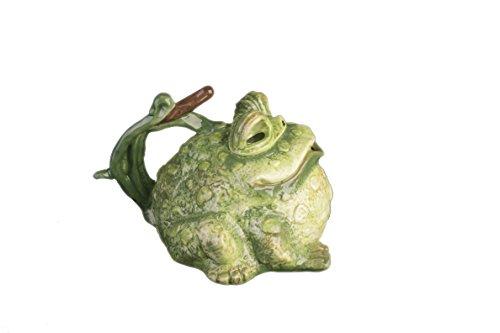 Blue Sky Ceramic Toad Teapot, 8.5 x 8 x 5.5