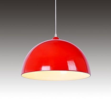 wmxab Industrial Vintage lámpara colgante sombra techo ...