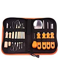 13pcs/set Halloween Pumpkin Carving Kit Stainless Steel Cutter Kitchen Fruit Vegetable Cutter Pumpkin Lamp Durable Carving Tools