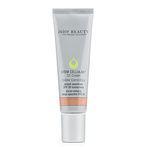 - Juice Beauty Stem Cellular CC Cream, 1.7 fl oz, Mineral SPF 30, Broad Spectrum UVA UVB, Organic, Reef Safe, Vegan, Non-Toxic, No Chemical, Cruelty Free