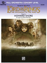 The Lord of the Rings: The Fellowship of the Ring, Symphonic Suite from - Full Orchestra PDF