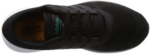 Adidas Mens Cloudfoam Flow, Zwart / Wit / Geel Zwart / Wit / Geel