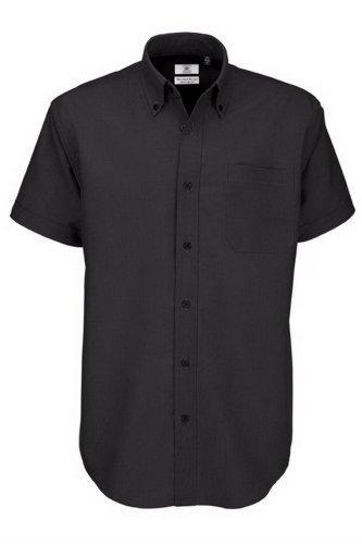 Chemise à manches courtes B&C pour homme XXXXX-Large noir - noir