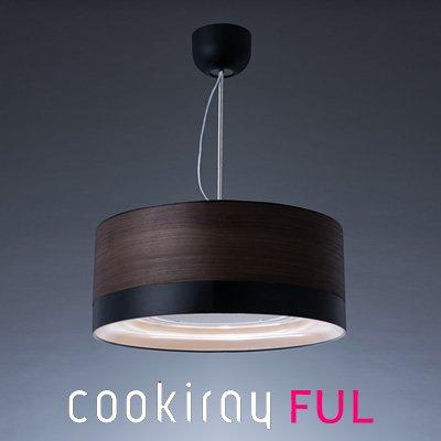 cookiray ( クーキレイ ) 空気清浄器付き照明 「 C-FUL501-WBK 」 ウッドブロック CFUL501WBK B00DI24LAC