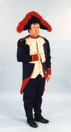 [Alexanders Costumes Men's Napoleon, Blue, Medium] (Napoleon Hat Costume)