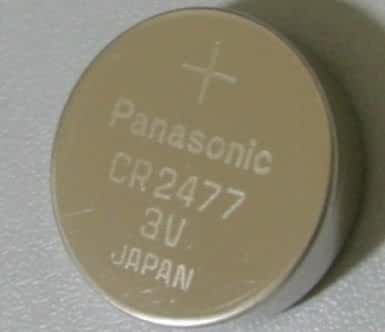 Panasonic CR2477 3v Litium Coin Cell Battery