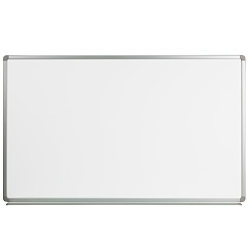 Flash Furniture 5' W x 3' H Magnetic Marker Board