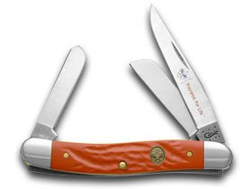 Case Cutlery 7999 Boy Scouts of America Medium Stockman Rough Red Synthetic Handle by Case