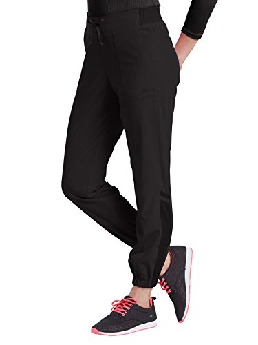 Oasis Fit By White Cross Women's Jogger Scrub Pant X-Small Black