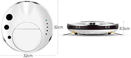 Sghjfj Aspirateur Intelligent Robot Nettoyeur Mop Lavage Intelligent Control Mobile Apps Intelligent for Plancher de Bois Franc Tapis Carrelage for Animaux Soins des Cheveux