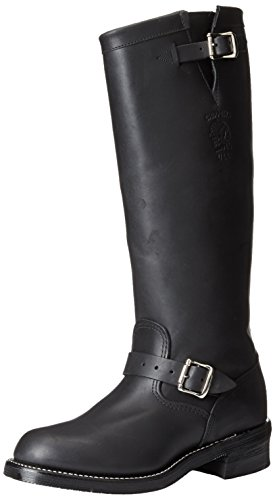 Chippewa Men's 17 Inch Odessa Engineer Boot Boot,Black,9 D U