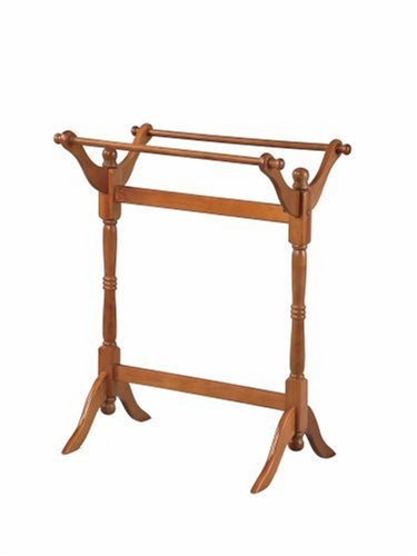 Powell Oak Blanket/Quilt Rack