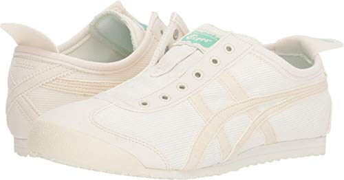 Onitsuka Tiger by Asics Women's Mexico 66 Slip-On Cream/Birch 11 B ()